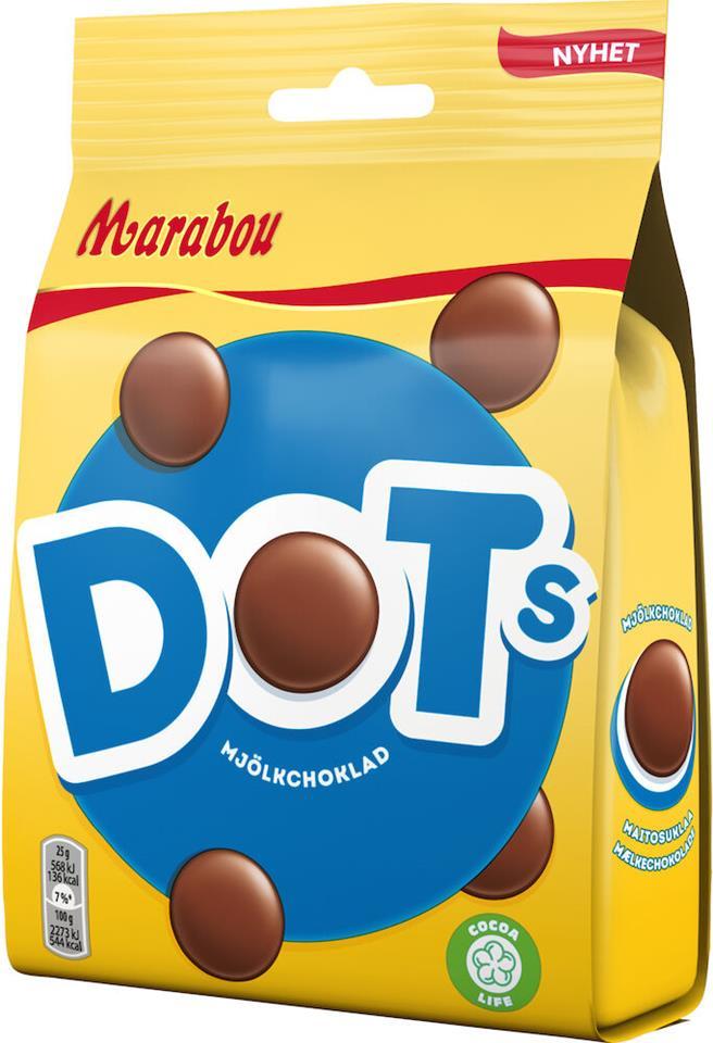 Bild av Marabou Dots 140g