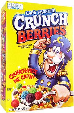 Cap n Crunch Crunch Berries 370g