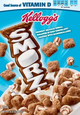 Kelloggs Smorz Cereal 253g