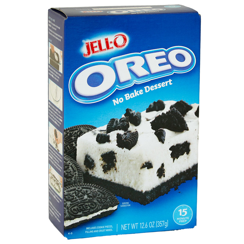 Jello Oreo No Bake Dessert