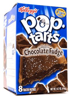 Kelloggs Pop-Tarts Chocolate Fudge