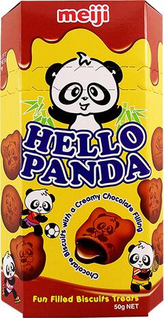 Meiji Hello Panda Double Choco 50gram