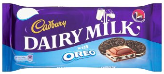 Bild av Cadbury Dairy Milk with Oreo 120g