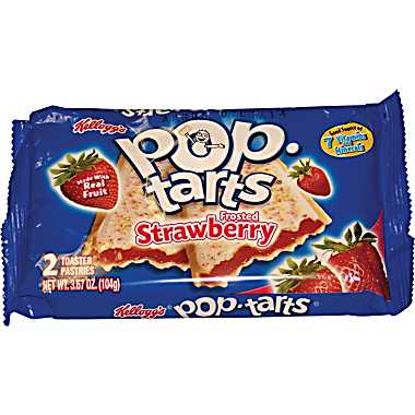 Kelloggs Pop-Tarts 2-pack Frosted Strawberry