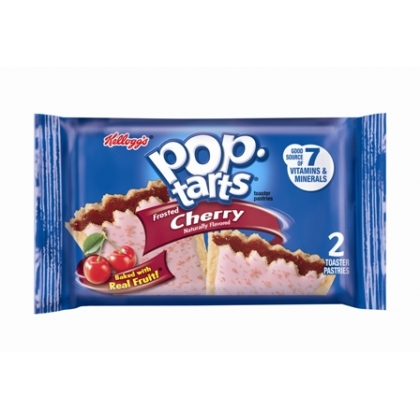 kelloggs Pop-Tarts 2-pack Frosted Cherry