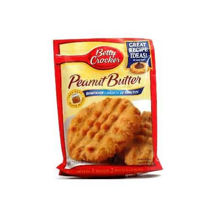 Betty Crocker Peanut Butter Cookie Mix Pouch