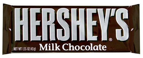 Bild av Hersheys Milk Chocolate Bar 47gram