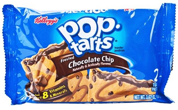 kelloggs Pop-Tarts 2-pack Chocolate Chip