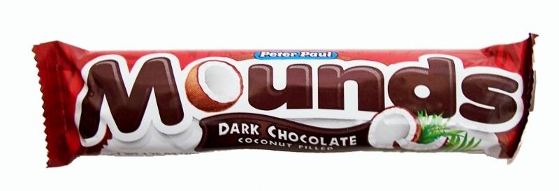 Bild av Mounds Dark Chocolate Bar 49g