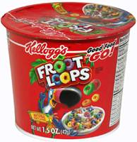 Froot Loops Cereal CUP