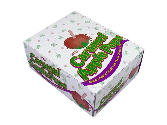 Tootsie Roll Caramel Apple Pops 48st