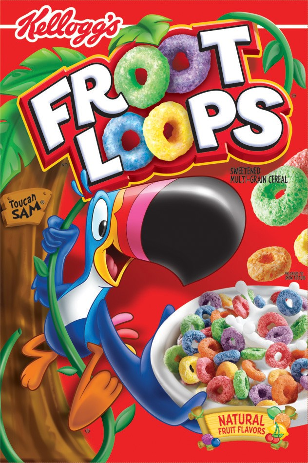 Froot Loops Cereal 286gram